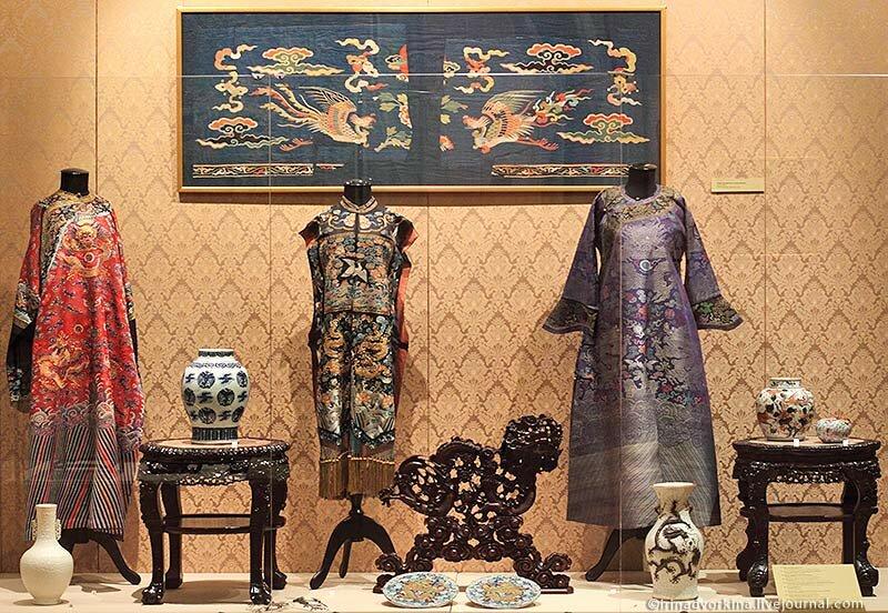 Выставка «Дракон и феникс»