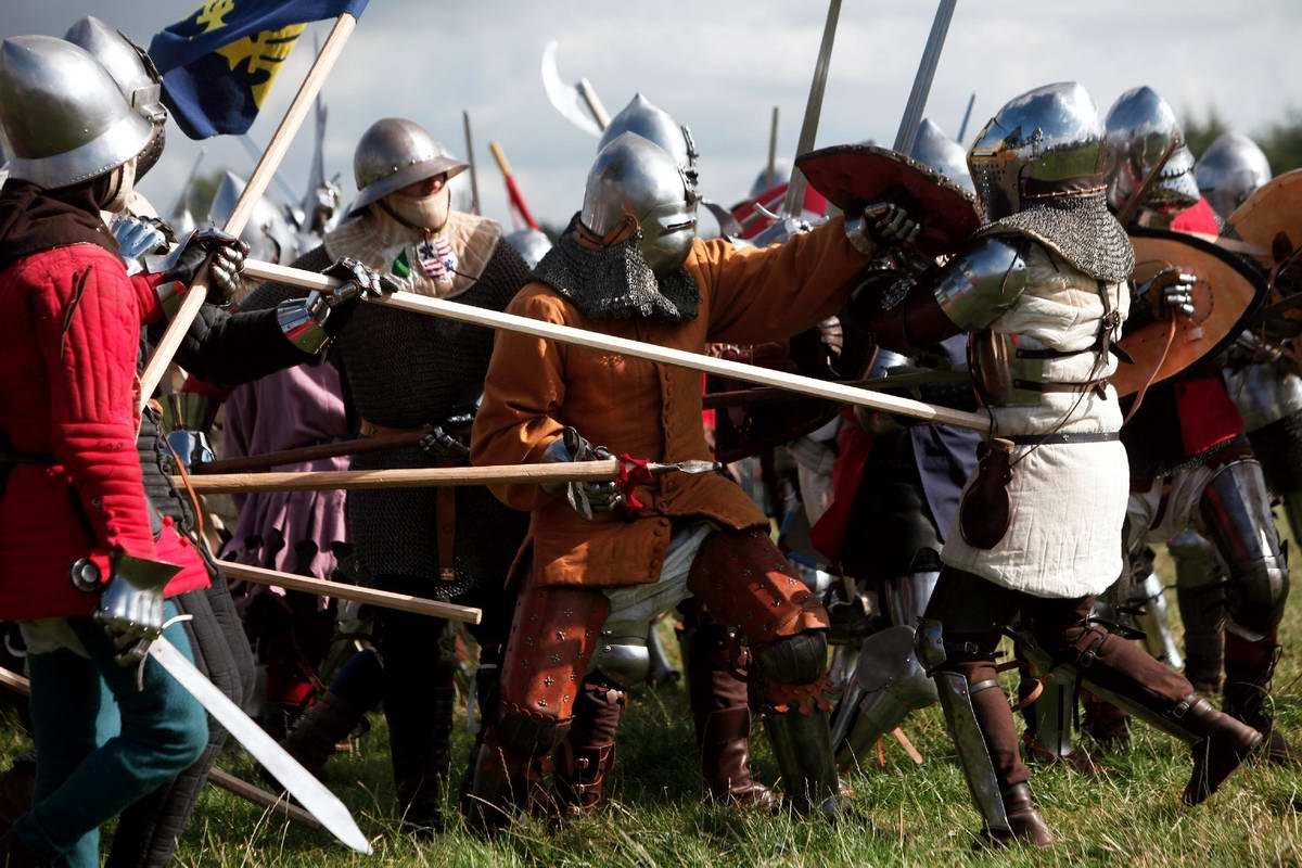 Эпизоды Столетней войны: Реконструкция битвы при Азенкуре в Северной Франции (23)