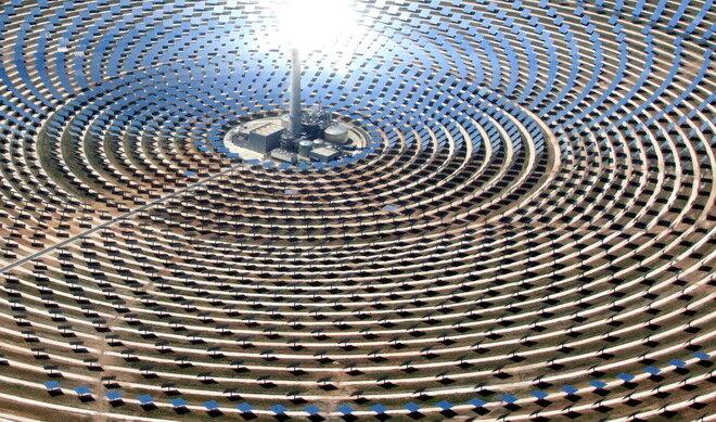 Солнечная электростанция Гемасолар. Испания