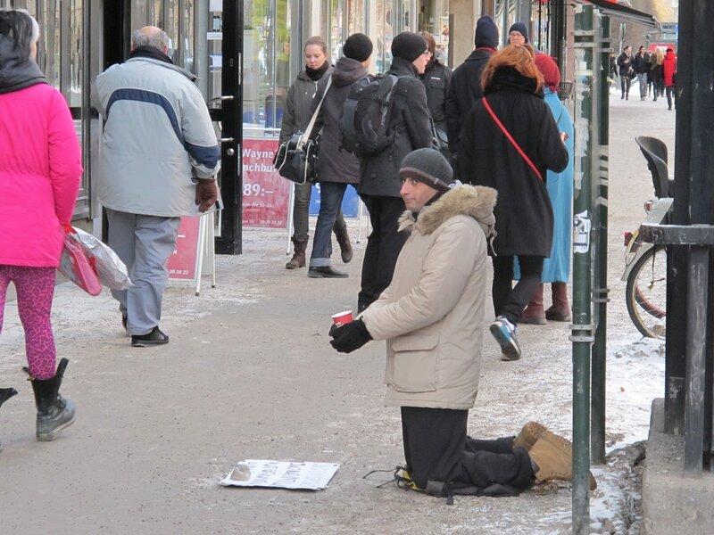 Стокгольм. Январь. День первый