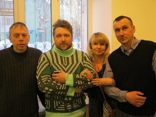 художники: Лавров Саша, Егоров Андрей, Полякова Марина, Губин Олег