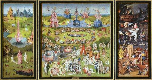 """Иероним Босх, """"Сад земных наслаждений"""", Ад, правая створка"""