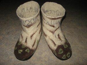 """Felt Boot  """"Valenky """"-3. Интернет магазин вещей из шерсти."""