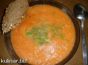 Пикантный помидорный супчик