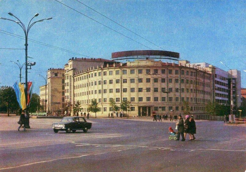 Челябинск. Гостиница Центральная фото К. Волкова. 1973 год.