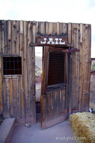 Калико, калифорния, город-призрак, сша, calico, usa, ghost town, тюрьма, jail