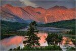 В Ягоднинском районе Магаданской области.  Впереди видна протока Вариантов, а за ней горы Большой Аннгачак...