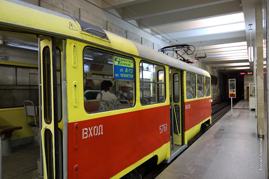 Волгоградский скоростной трамвай. Станция «Комсомольская»