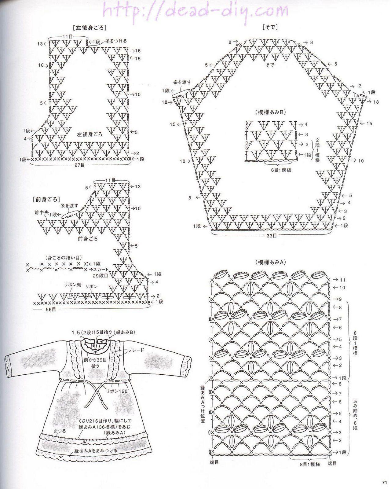 Детские юбки спицами схемы и описание