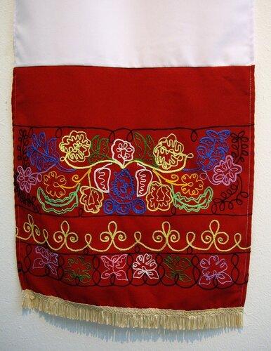 Башкирский орнамент вышивка 28