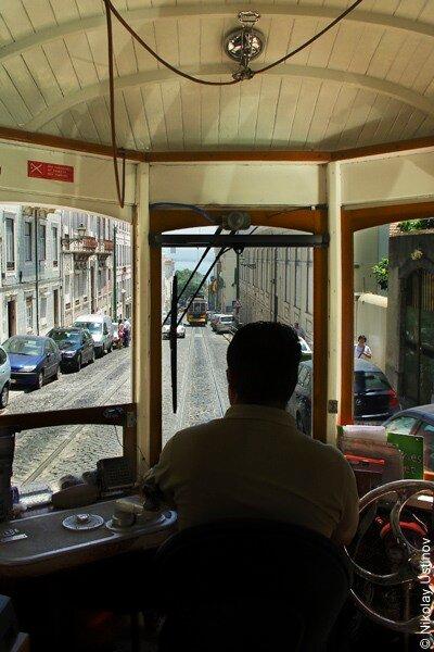 Lisboa tram - Лиссабон, Португалия