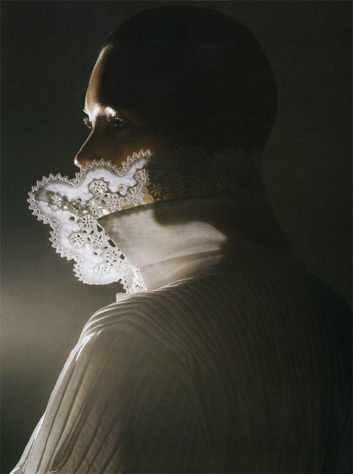 модель Кейт Мосс / Kate Moss, фотограф Mario Sorrenti