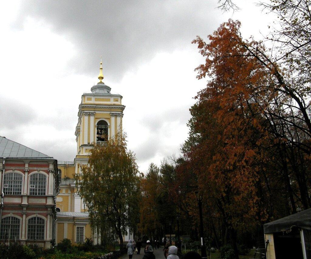 Alexander Nevsky Lavra, St. Petersburg, autumn
