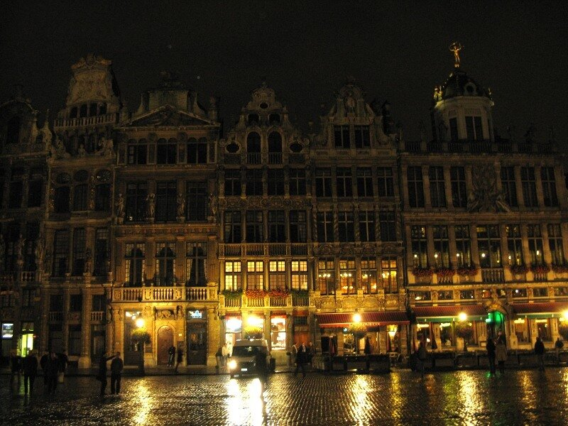 Evening in Brussels