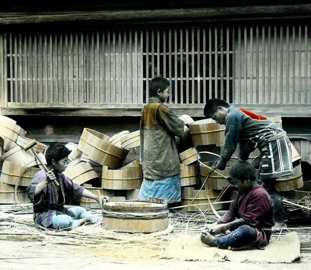 детский труд в старой Японии