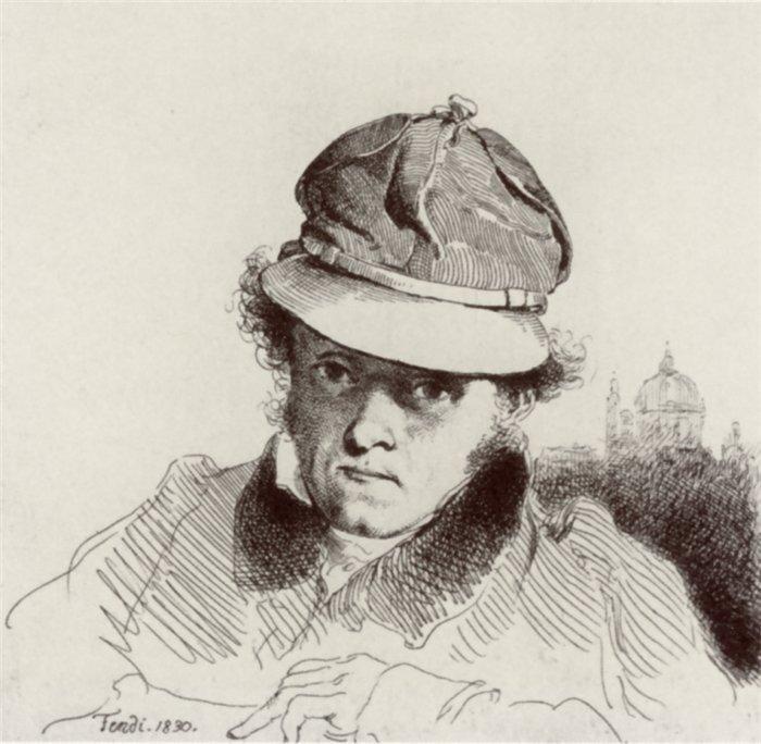 портрет Peter Fend