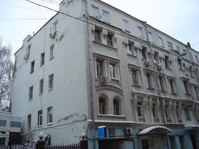 Собственный доходный дом архитектора К. К. Гиппиуса (1901,арх. К. К. Гиппиус)