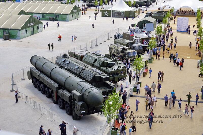Форум Армия-2015, парк Патриот
