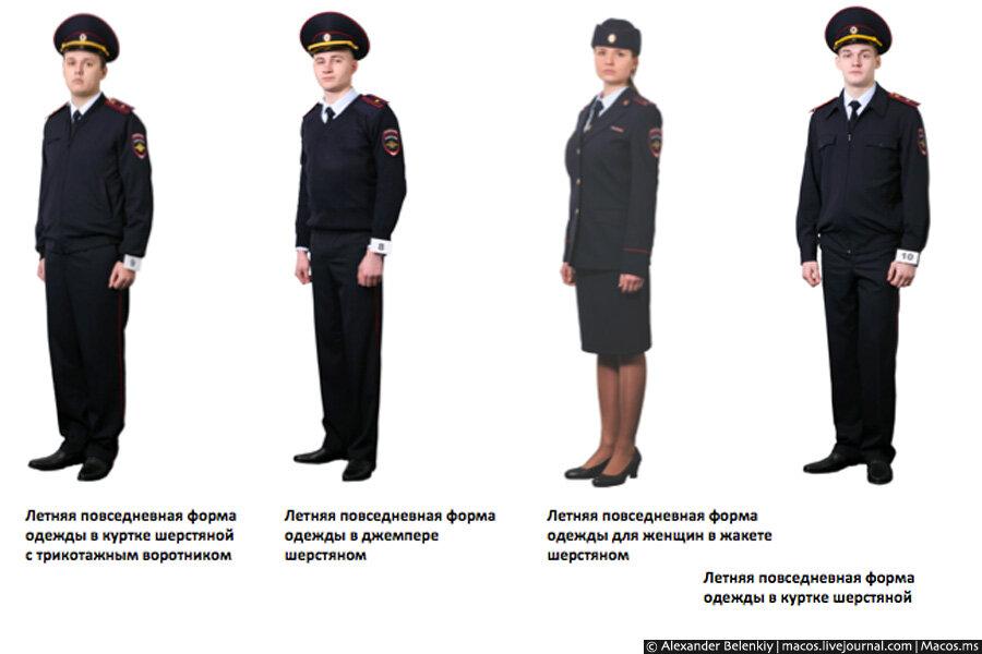 Костюм милиционера женский