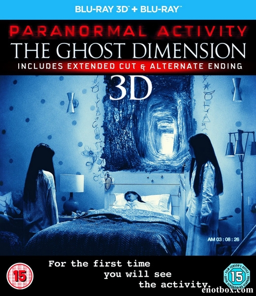 Паранормальное явление 5: Призраки в 3D / Paranormal Activity: The Ghost Dimension [UNRATED] (2015/BDRip/HDRip)