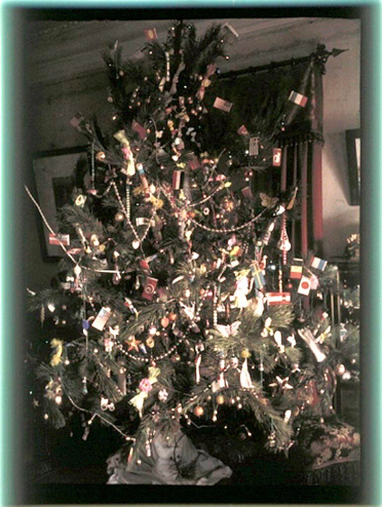 Рождественская елка в Никольском, 1911..jpg