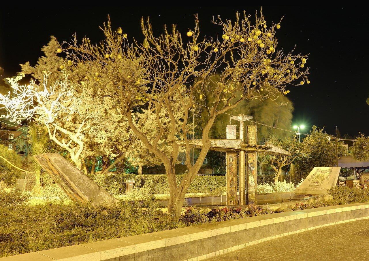 Искья-Порто ночью, HDR