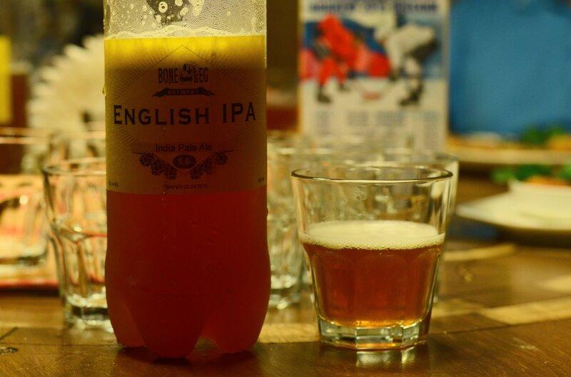 Дегустация Boneleg English IPA
