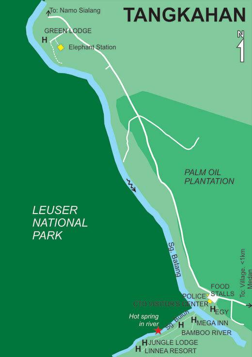 Карта Тангкахана