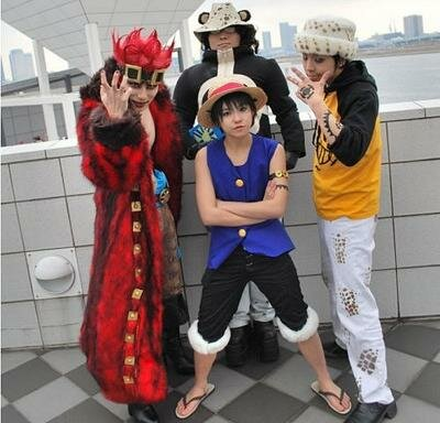 Косплей One Piece (Луффи де Монки), ванпис, cosplay