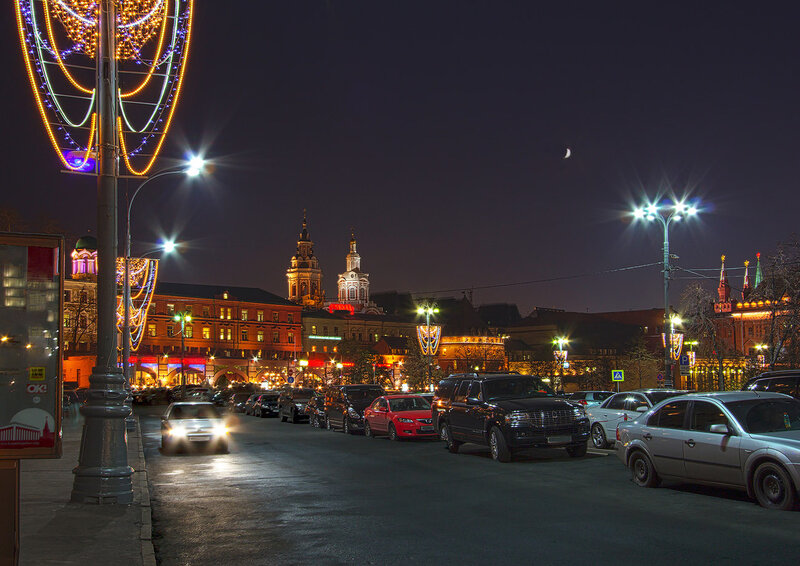 Москва  нарядная.