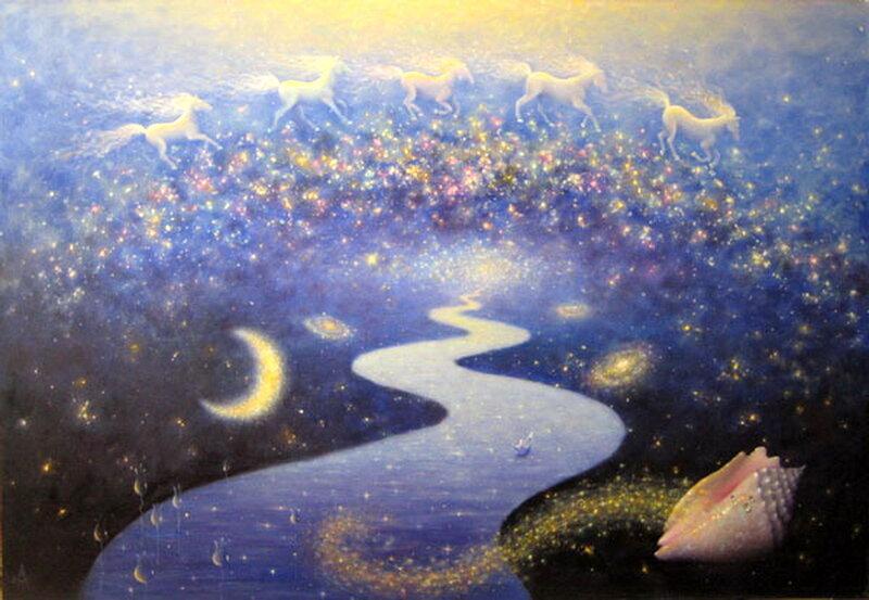 Течение жизни в пространстве бесконечности