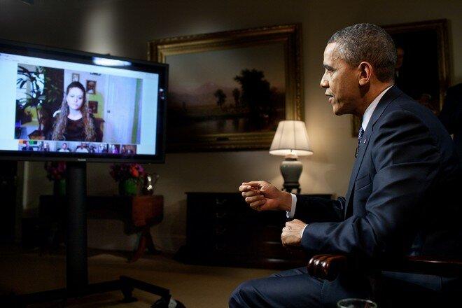 Барак Обама и Panasonic