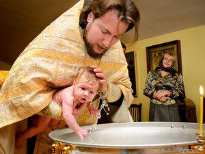 Крещение (крещение, ребенок, религия, свеча)