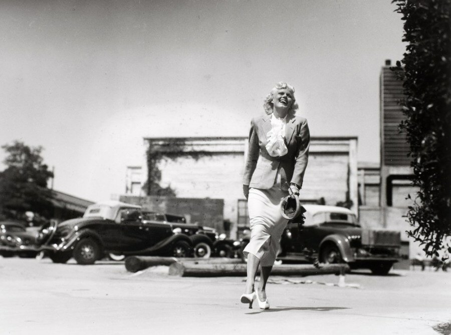 Martin Munkacsi, Jean Harlow, Hollywood 1937