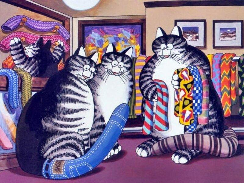 Отправить картинки, картинки прикольные с кошками рисованные