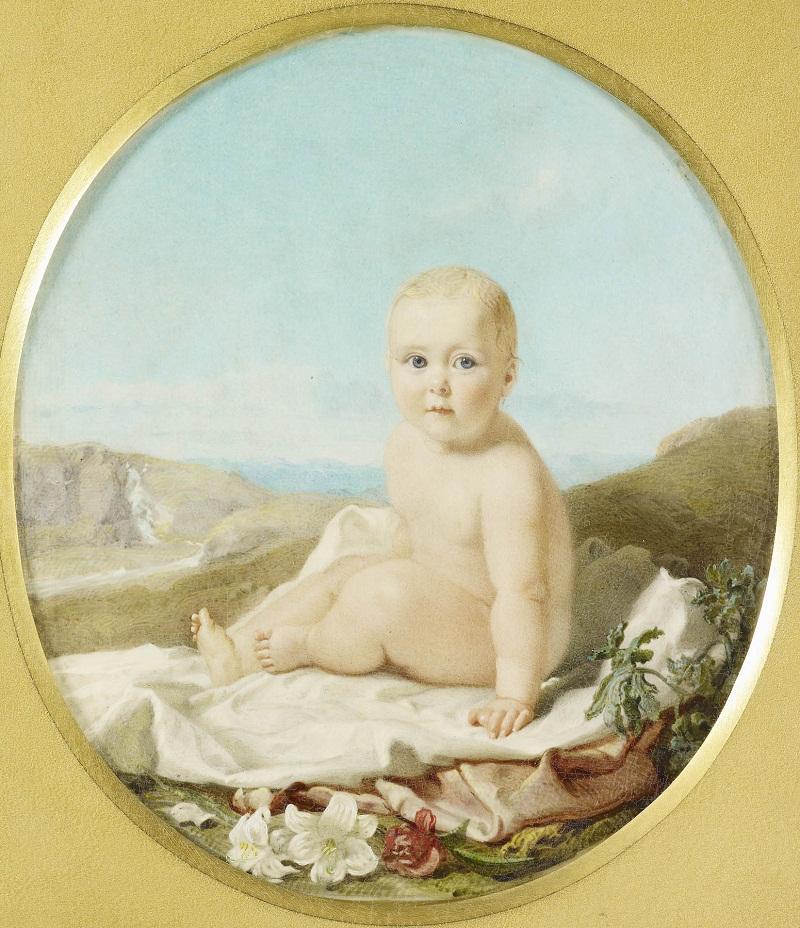 Роберт Торбурн (1818-85)Принцесса Алиса (1843-1878)  1844