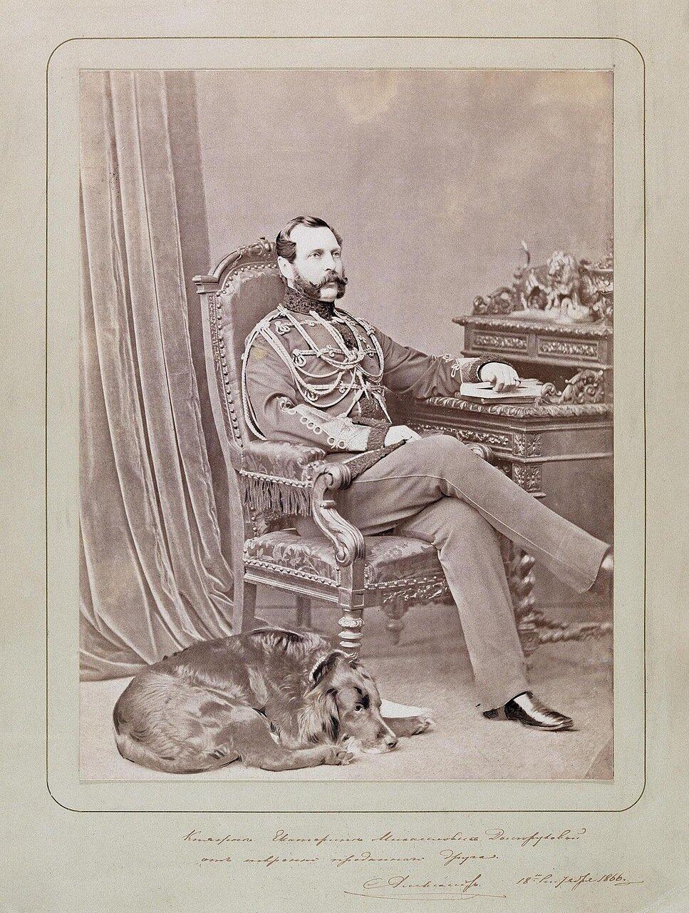Портрет Александра II. 1866