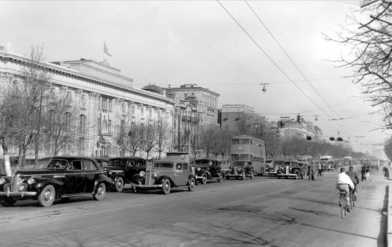 1930-е. Ленинградское шоссе