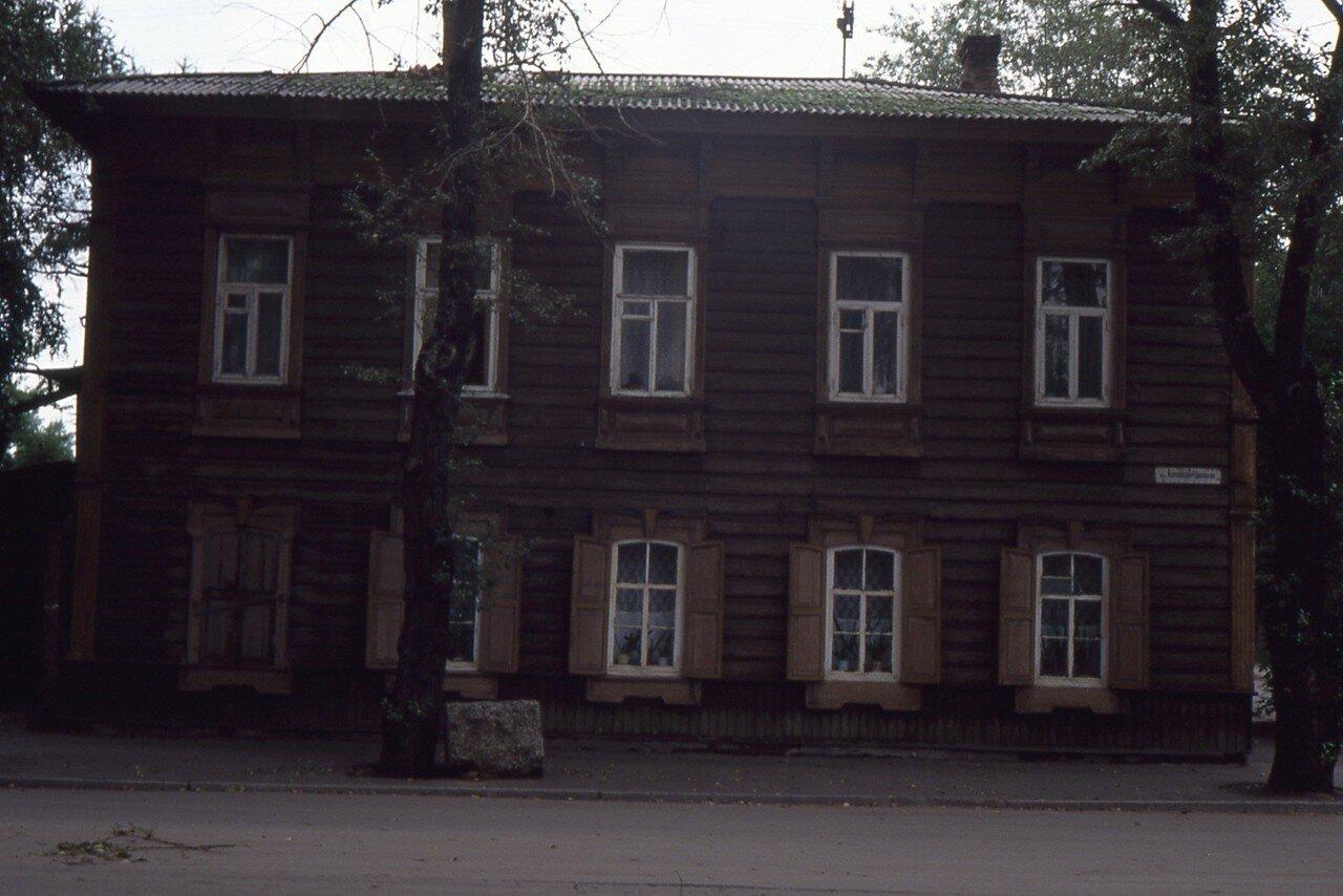 Иркутск. Дом на улице  Желябова