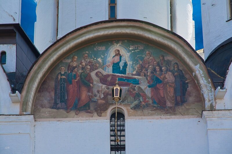 Стенопись Троицкого собора