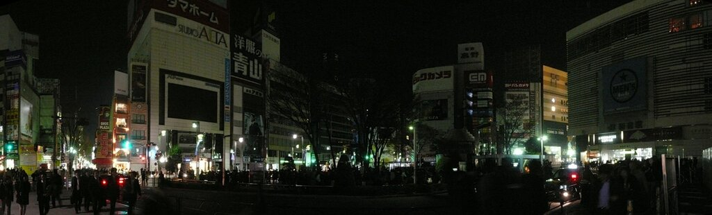 Вечерний Синдзюку (экономия электричества)