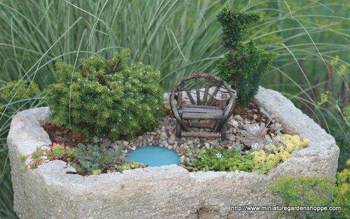 миниатюрный сад