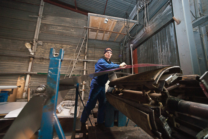 репортажная фотосъемка с заводов и фабрик
