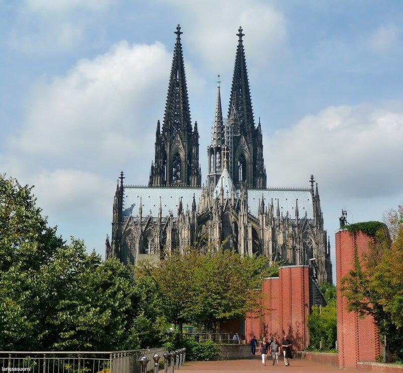 Köln. Знаменитый собор.