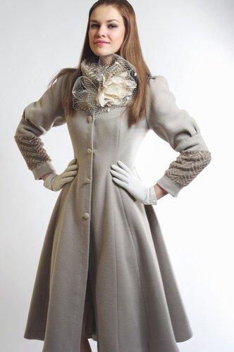 Купить женское пальто российского дизайнера ,сайт www.fashion-piart.ru