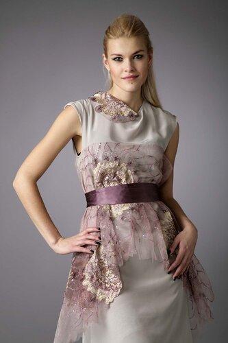 """Стильное вечернее платье для подружки невесты """" Любава """""""