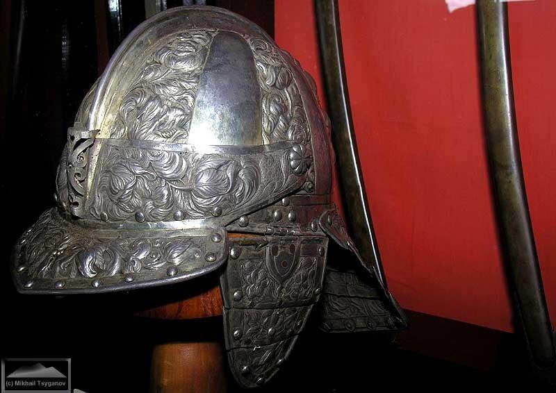Шлем в музее Тернате
