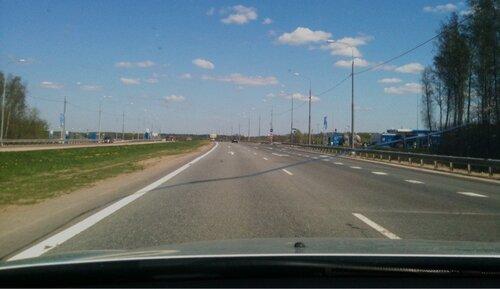 Трасса М2 близ Серпухова