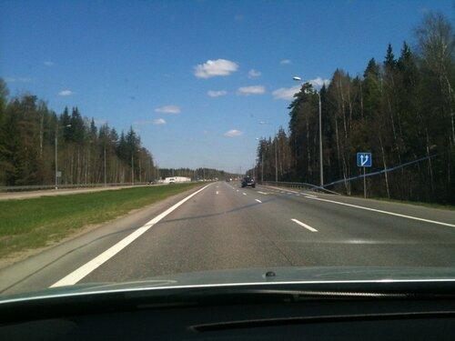 Трасса М2 в Серпуховском районе