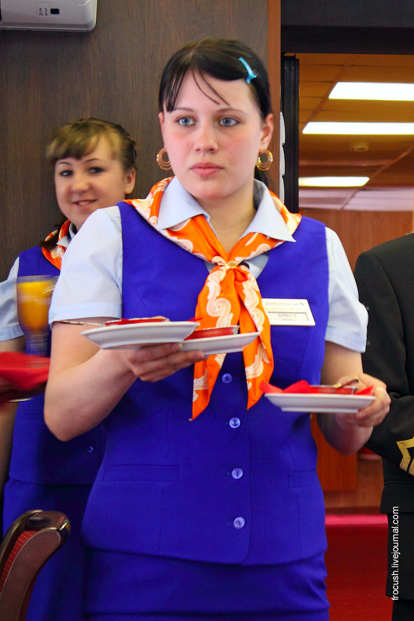 официант Ольга
